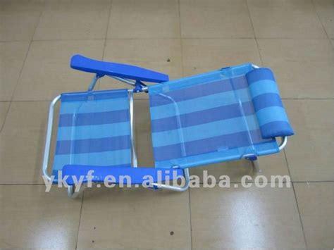 siege de plage pliante pliable bas réglable de siège accoudoir chaise de plage
