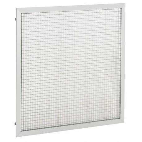 grille de reprise aluminium 224 quadrillage pour plafond grk fp s f atlantic 535707