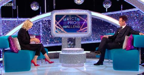 Strictly pro in 'awkward' quip over former dancer Brendan Cole