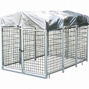 options plus 4 ft x 6 ft x 4 ft folding quick kennel With outside dog kennels home depot