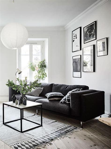 living room  black white  gray  nice gallery