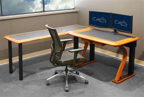 unique desk ls artistic computer desk petite l shaped right caretta workspace