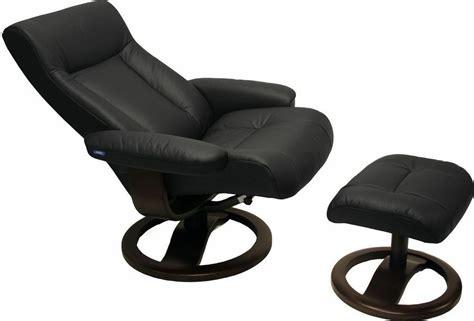 black leather hjellegjerde scansit 110 ergonomic lounge