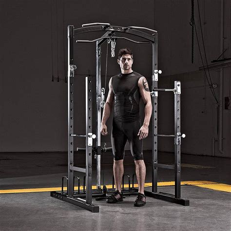 gym marcy cage mwm station weight rack system workout power stations weightlifting fitness weights pull pulley equipment lifting own dip
