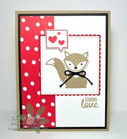 foxy friends valentine  images stampin