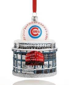 kurt adler sports ornament chicago cubs wrigley field ornaments