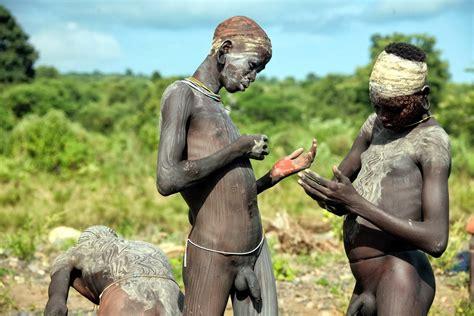 Naked african tribal men penis-nude gallery