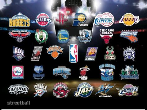 Playoff Standings Nba by Nba Team Logos Wallpapers 2016 Wallpaper Cave