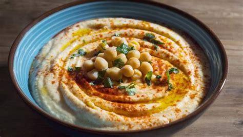 la autentica receta de hummus de garbanzos  salsa tahini