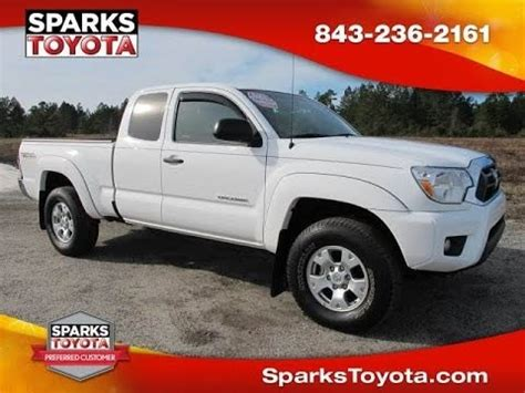 Sparks Toyota Myrtle by 2013 Toyota Tacoma Access Cab 4x4 Trd Available At Sparks