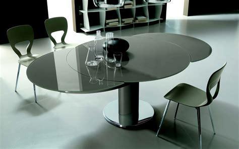 tavolo rotondo allungabile cristallo tavolo rotondo allungabile giro di bontempi un tavolo