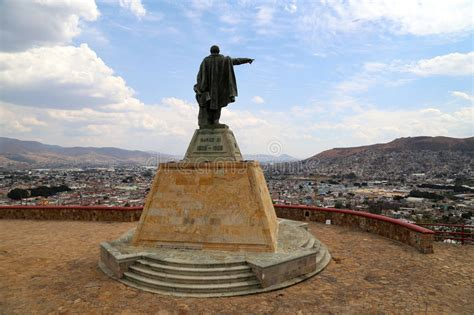 Looking Over Oaxaca City, Mexico. Stock Image - Image of ...