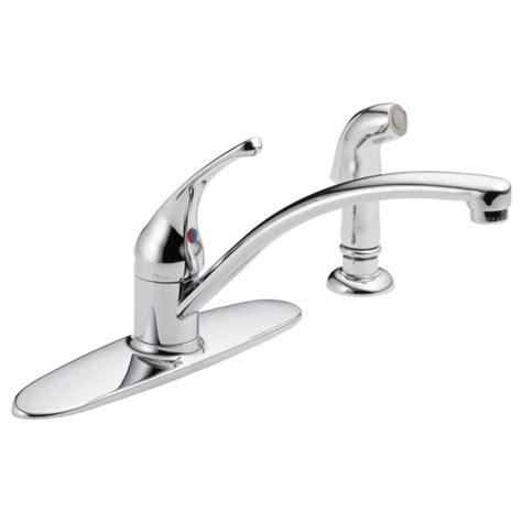 single handle kitchen faucet  spray lf delta faucet