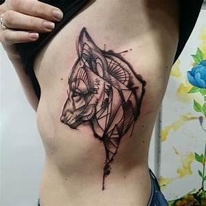 Tatouage Loup Graphique : tattoo du jour merci manon tatouage tattoo ~ Mglfilm.com Idées de Décoration
