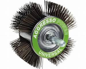 Drahtbürste Bohrmaschine Lack Entfernen : drahtb rste kwb 110 mm aggresso power universalb rste ~ Lizthompson.info Haus und Dekorationen