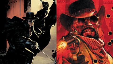 Zorro And Django To Crossover In Comic Book