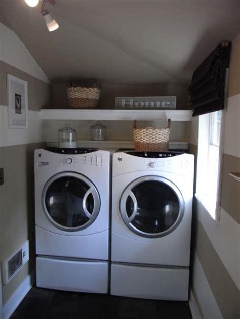 Small Laundry Room Ideas  White Way