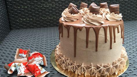 layer cake kinder bueno les gourmandises de nemo