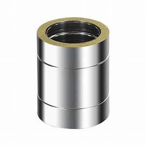 Tuyau Inox 200 : conduit de chemin e en inox adt double paroi 200 tuyau 250 mm ~ Edinachiropracticcenter.com Idées de Décoration