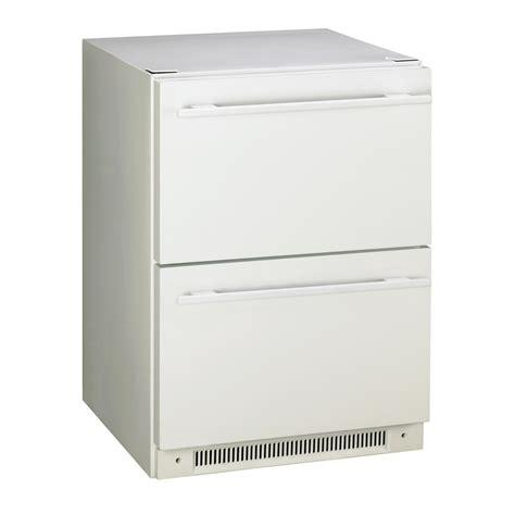 shop haier  cu ft compact refrigerator white  lowescom