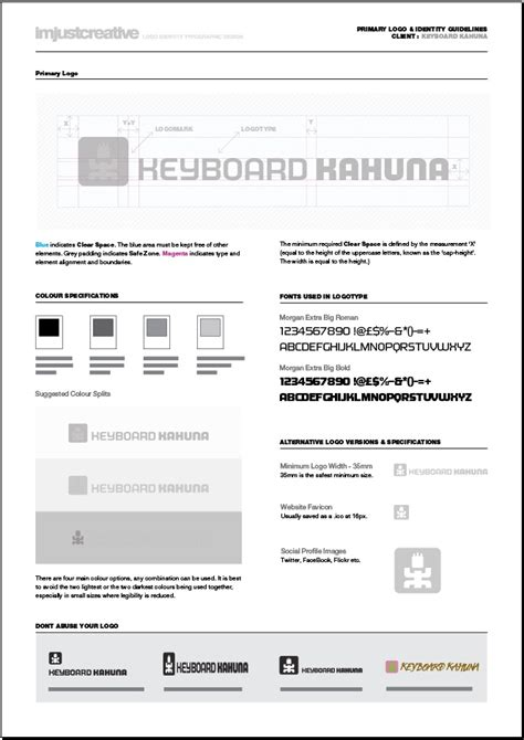 free brand guidelines template 11 graphic design style guide template images style guide template free graphic design style