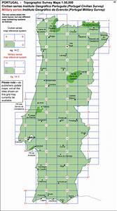 Nautical Charts Online Free Portugal 50k Civilian Topographic Survey Maps Stanfords