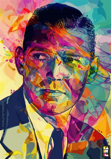 amazing colorful portraits  alessandro pautasso art spire