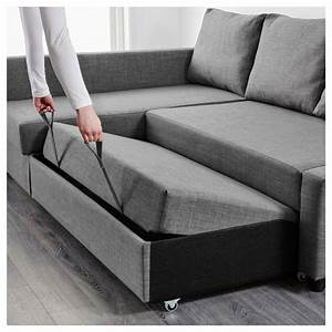 Sofa Bed Ikea : friheten corner sofa bed with storage skiftebo dark grey ikea ~ Watch28wear.com Haus und Dekorationen
