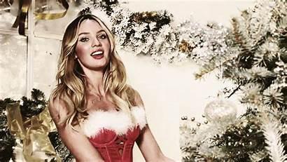 Secret Christmas Candice Swanepoel Victoria Holiday Victorias
