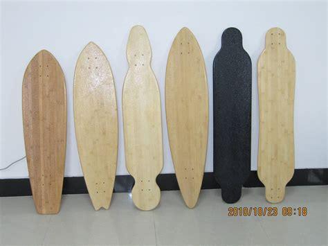 bamboo longboard deck blank skateboard decks blank nz images
