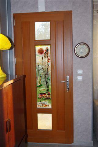 portes de cuisine verre et fusion fusing artisanal