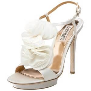shoes for wedding badgley mischka bridal shoes