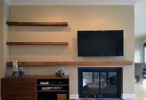 Floating TV Stand DIY — Derektime Design : Design Creative