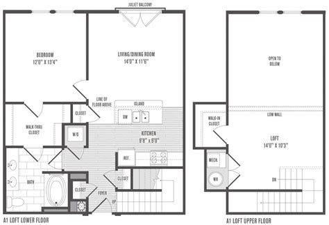 bedroom house plans loft  home plans design