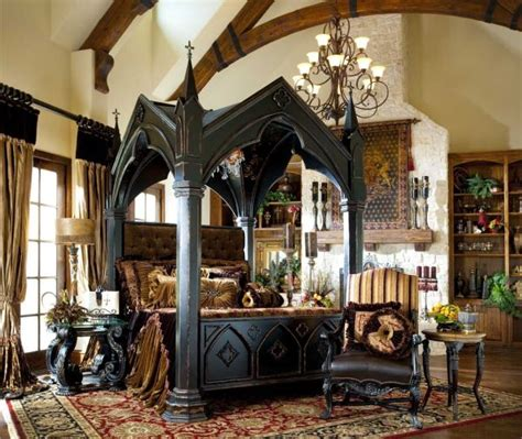 13 Mysterious Gothic Bedroom Interior Design Ideas