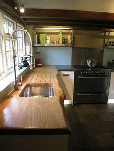 Solid Oak worktops look great on modern kitchens and are