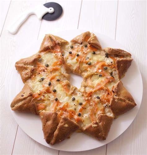 la cuisine de dorian pizza étoile des neiges au saumon fumé et pommes de terre les meilleures recettes de cuisine d