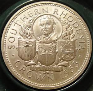Africa - Rhodesian Silver Crown : Cecil John Rhodes ...