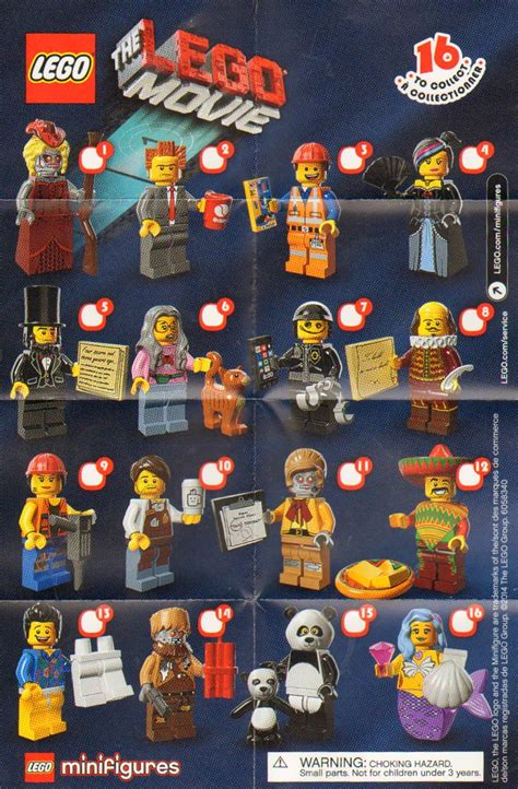 the minifigure collector lego minifigure series 1 14 checklists and visual