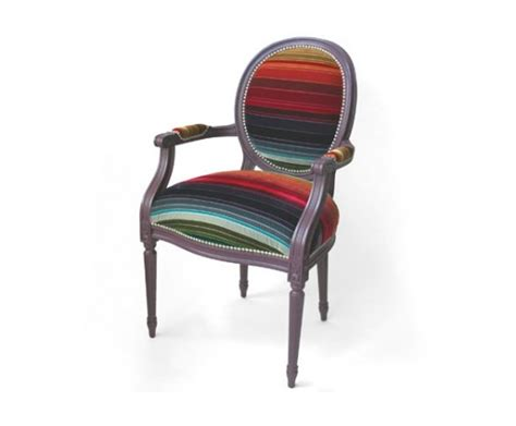 chaise multicolore fauteuil louis xv multicolore dransfield and ross