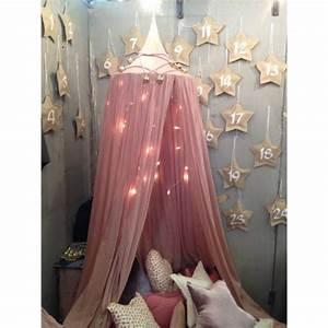 Ciel De Lit Bébé Fille : ciel de lit numero 74 vieux rose linge et d co enfant en coton bio ~ Teatrodelosmanantiales.com Idées de Décoration