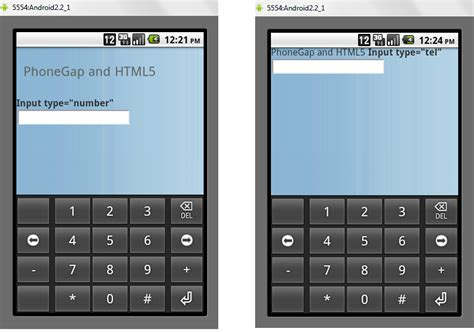html phone number input html5 inputs and phonegap iphone and android 2