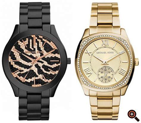 uhren herren gold michael kors uhren damen herren gold rosegold silber chronograph magazine design
