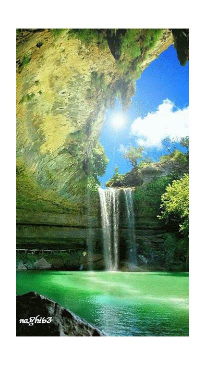 Angel Moon Star Ak0 Waterfall Nature Margie