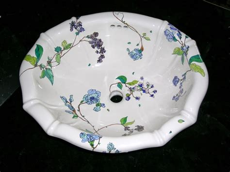 hand painted bathroom sinks 12 best images about hand painted sinks on pinterest