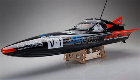 Rc Boat Steerable Outdrive by Exceed Vyper Electric Powered Fiberglass 920ep Racing Boat