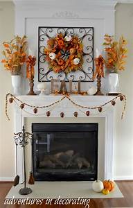 Adventures, In, Decorating, Kicking, Off, Fall, With, Our, 2015, Fall, Mantel