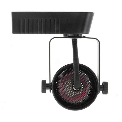 black mini mr16 low voltage 120 12v led track light