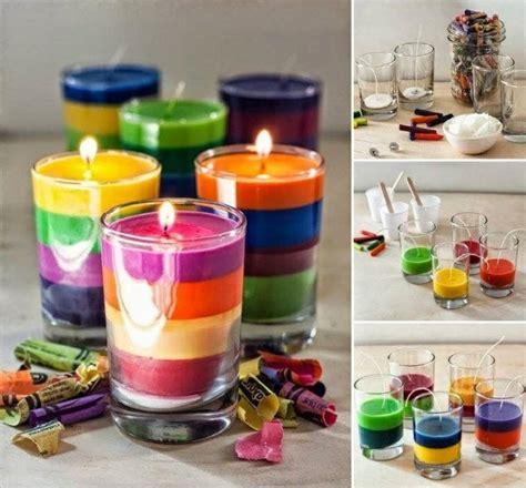 kerzen im glas selber machen kerzen deko tolle diy ideen wie sie deko mit geschmolzenen kerzen in glas selber machen