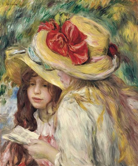 Pierre Auguste Renoir 1841 1919 Les Deux Soeurs 19th